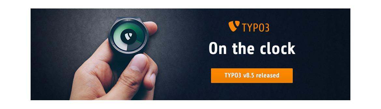 TYPO3 V8.5 VERÖFFENTLICHT